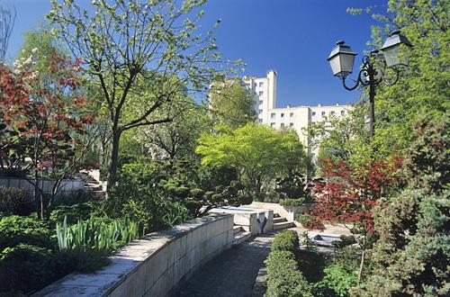Jardin Square Peguy MAP AKU GIP0024623