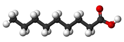 Molecule Acide Pelargonique