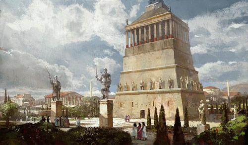 Halicarnasse Mausolee