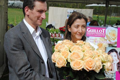 Rose Ingrid Bettancourt Bapteme