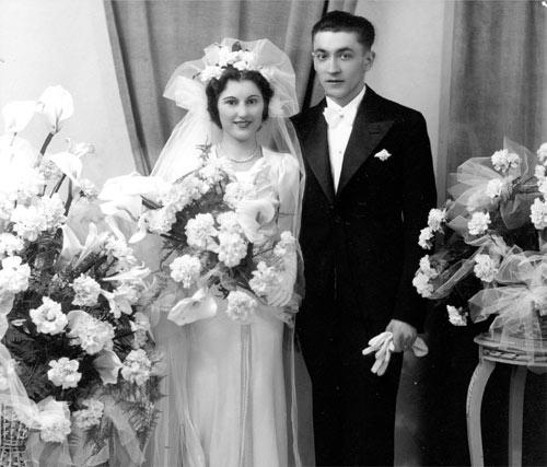 Louisette Francis Meilland Mariage