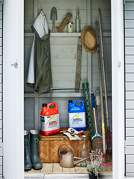 Abri jardin stockage Aspen