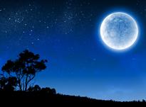 Nuit Lune Ambiance