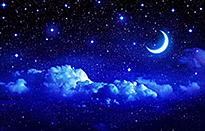 Lune etoile Ciel Nuit NewsJardinTV