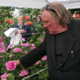 Gerard Depardieu Rose Bapteme Mioulane NewsJardinTV Vignette P1070208