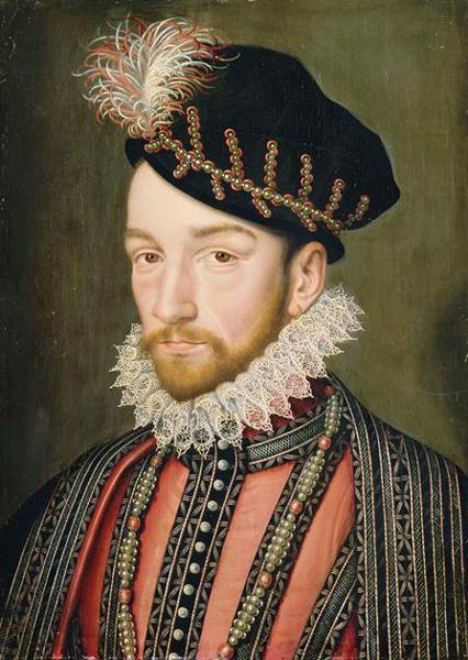 CharlesIX Portrait Francois Clouet