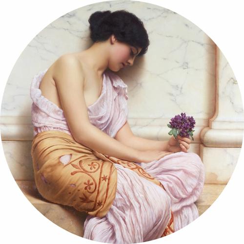 Violette Sensualite John William Godward
