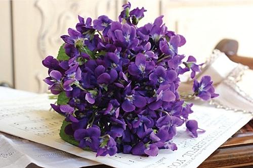 Bouquet Violettes Flora