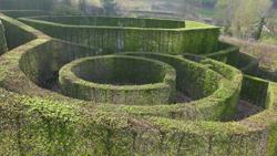 Labyrinthe Berchigranges Mioulane NewsJardinTV P1130813