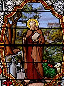 Saint Fiacre patron des jardiniers