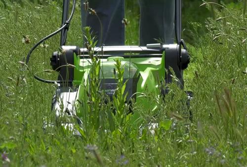 Tonte Greenworks 41cm Herbehaute Mioulane NewsJardinTV Jardimiou 55884411