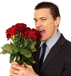 Homme Fleurs Bouquet DR2