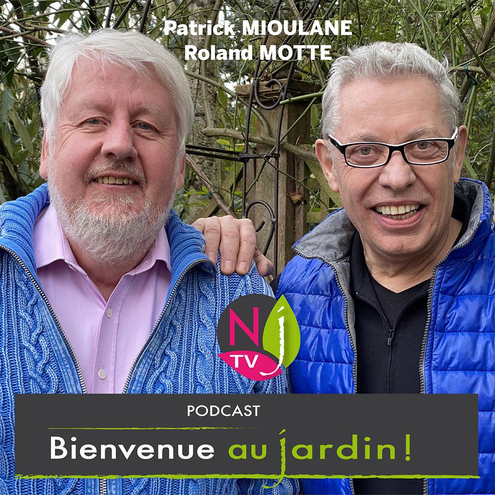 Patrick Mioulane et Roland Motte